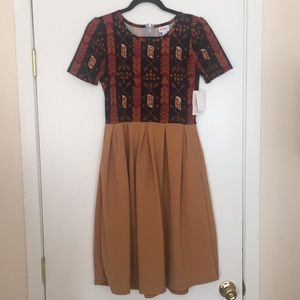 M LuLaRoe Amelia Dress G04 1119